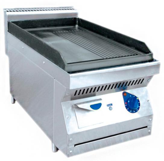 Жарочная поверхность (аппарат контактной обработки) АКО-40Н гладкая/рифленая (серия 700)