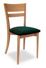 Стул «Бруно» с мягким сиденьем (деревянный каркас)