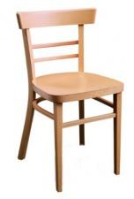 Стул «Лаура» с жестким сиденьем (деревянный каркас)