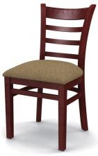 Стул «Оксфорд» с мягким сиденьем (деревянный каркас)