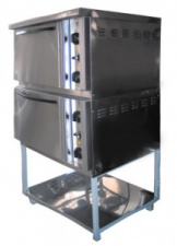 Шкаф жарочный Пищевые технологии ШЖЭП-2 (нержавеющая сталь)