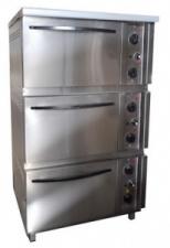 Шкаф жарочный Пищевые технологии ШЖЭП-3 (нержавеющая сталь)