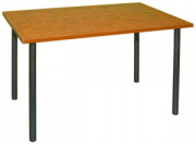 Стол СТ 6 со столешницей из ДСП, облицованная пластиком