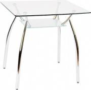 Стол обеденный со стеклянной столешницей АТ933S