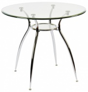 Стол обеденный со стеклянной столешницей АТ-068-2