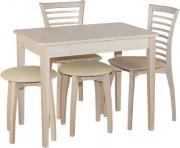 Стол «Добби» раздвижной (ножки из массива бука)