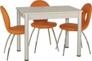 Стол «Добби» раздвижной (ножки из алюминия)