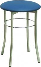 Табурет «Экстра» с мягким сиденьем (хромированный каркас)