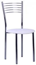 Стул «Оливия» с мягким сиденьем (хромированный каркас)