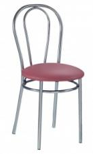 Стул «Tulipan» с мягким сиденьем (хромированный каркас)