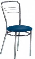 Стул «Argento» с мягким сиденьем (хромированный каркас)