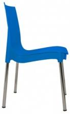 Стул «Rich-N» с жестким сиденьем (хромированный каркас)