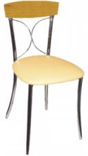 Стул SE 17 с мягким сиденьем (хромированный каркас)