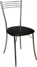 Стул М9 складной с мягким сиденьем (хромированный каркас)