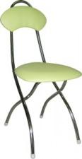 Стул М4 складной с мягким сиденьем (хромированный каркас)