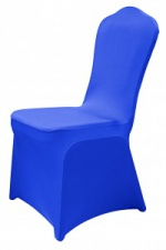 Чехол для банкетного стула синий