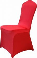 Чехол для банкетного стула красный
