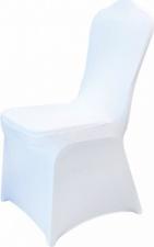 Чехол для банкетного стула белый