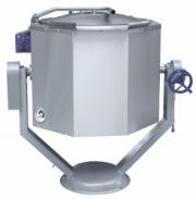 Котел пищеварочный КПЭМ-160 ОР опрокидываемый с ручным приводом