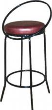 Стул барный СБ-2 с мягким сиденьем (окрашенный каркас)