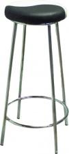 Табурет барный «Лайт» с мягким сиденьем (хромированный каркас)