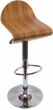 Стул барный «Logo» с жестким сиденьем (хромированный каркас)