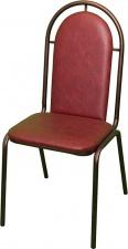 Стул СМ 7/1 с мягким сиденьем (окрашенный каркас)