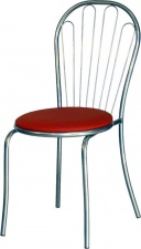 Стул «Арфа» с мягким сиденьем (окрашенный каркас)