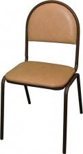 Стул СМ 7 с мягким сиденьем (окрашенный каркас)