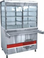 Прилавок-витрина холодильный «Аста» ПВВ-70КМ-С-02-НШ