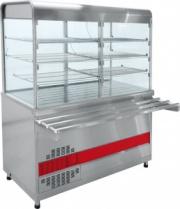 Прилавок-витрина холодильный «Аста» ПВВ-70КМ-С-01-ОК