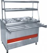 Прилавок-мармит вторых блюд «Аста» ПМЭС-70КМ-60