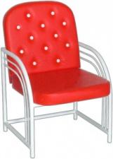 Кресло М117-02 с мягким сиденьем (окрашенный каркас)