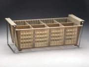 Контейнер для столовых приборов 8 ячеек [JW-8B]