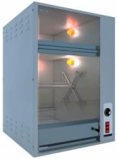 Гриль карусельный для приготовления кур СИКОМ МК-3.8.1В со встроенной тепловой витриной
