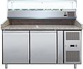 Стол холодильный для пиццы Cooleq PZ2600TN-VRX380