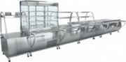 Прилавок-витрина холодильный «Патша» ПВВ(Н)-70М-С-НШ-01
