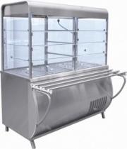 Прилавок-витрина холодильный «Патша» ПВВ(Н)-70М-С-НШ