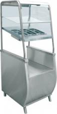 Прилавок для столовых приборов с хлебницей «Премьер» ПСПХ-70Т
