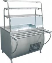 Прилавок-витрина холодильный «Премьер» ПВВ-70Т