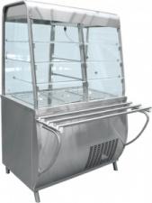 Прилавок-витрина холодильный «Премьер» ПВВ-70Т-С