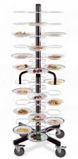 Тележка-шпилька «MetalCarrelli» на 48 тарелок (180 мм и 240 мм) [3008]
