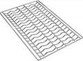 Набор решеток для багета Smeg 3810 (600х400) 4 шт.