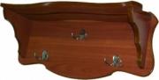 Настенная деревянная вешалка М164.7