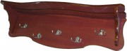 Настенная деревянная вешалка М164.8