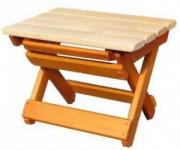 Табурет-скамья складная деревянная M91.12