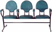 Трехместная секция стульев M115