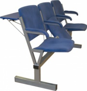 Секция стульев 3х и 4х местная M116-033 и M116-034