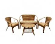 Комплект мебели из ротанга MPD-SELANGOR BANANA NATURAL