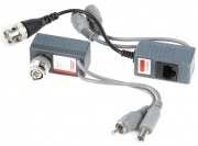 Приемо-передатчик по кабелю UTP5e (видео+аудио+питание)